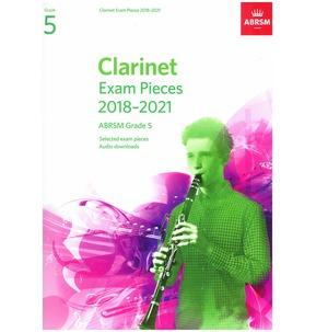 Clarinet Exam Pieces 2018?2021, ABRSM Grade 5