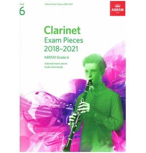 Clarinet Exam Pieces 2018-2021, ABRSM Grade 6