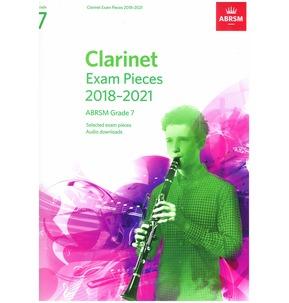 Clarinet Exam Pieces 2018?2021, ABRSM Grade 7