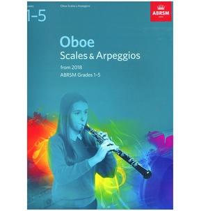 Oboe Scales & Arpeggios, ABRSM Grades 1-5