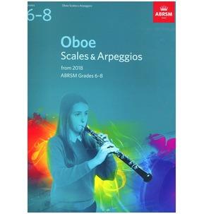 Oboe Scales & Arpeggios, ABRSM Grades 6-8