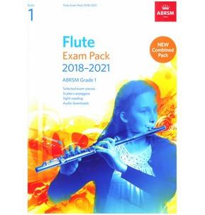 Flute Exam Pack 2018?2021, ABRSM - Various Options