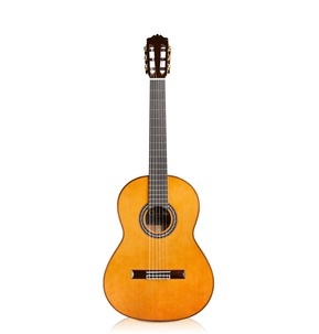 Cordoba Luthier C9 Parlour All Solid 7/8 Size Nylon Guitar & Case - B-Stock