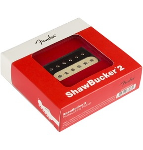Fender Shawbucker 2 Humbucking Pickup, Zebra