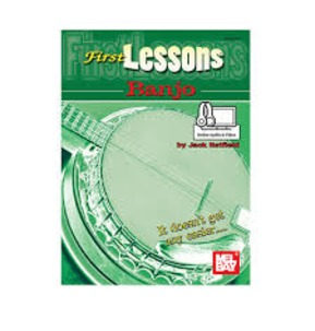First Lessons Banjo Book/audio and video download by Jack Hatfield