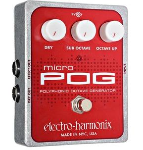 Electro Harmonix Micro Pog Octave Pedal