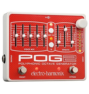 Electro Harmonix Pog 2 Polyphonic Octave Pedal