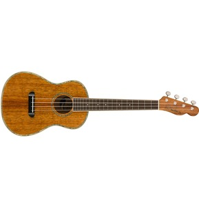 Fender Montecito Tenor Ukulele, Natural & Case