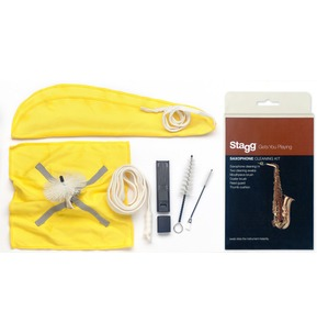 Stagg Saxophone Cleaning Kit Pro