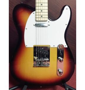 Paragon T Shape Electric Guitar in Brown Burst