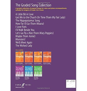 The Graded Song Collection For Voice Grades 2-5