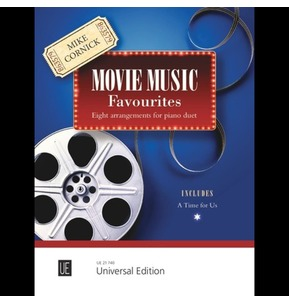 Movie Music Favourites: Eight Arrangements for Piano Duet