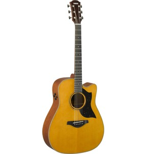 Yamaha A5M ARE Electro-Acoustic Guitar, Vintage Natural Finish