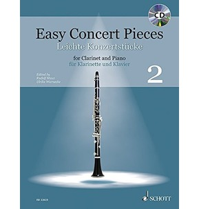 Easy Concert Pieces for Clarinet & Piano