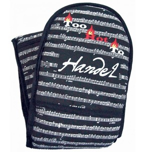 'Too Hot to Handel' Oven Gloves
