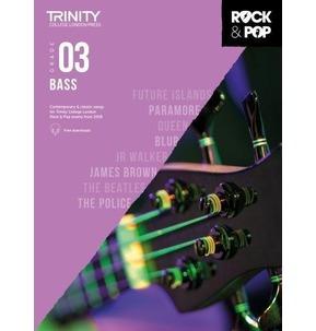 Trinity Rock & Pop 2018 Bass Grade 3