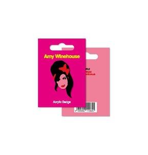 My World: Acrylic Badge - Amy Winehouse