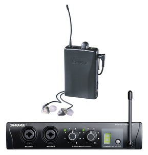 Shure PSM200 Wireless In Ear Personal Monitor System With Mix Control