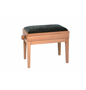 Woodhouse MS601B Adjustable Piano Stool With Music Storage