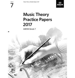 ABRSM Music Theory Practice Papers 2017 Grade 7 - SALE