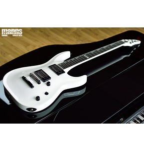 ESP E-II HORIZON NT SW Snow White Guitar & Hard Case