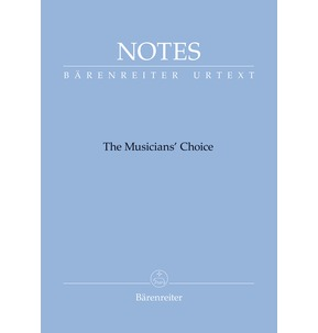 Barenreiter Notes - Debussy Blue