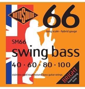 Rotosound SM66 Swing Bass Long Scale 40-100 Bass Guitar Strings