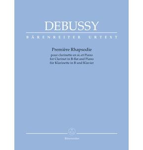 Debussy Premiere Rhapsodie - Clarinet/Piano