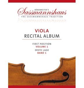 Sassmannshaus Viola Recital Album Vol. 1 - SALE