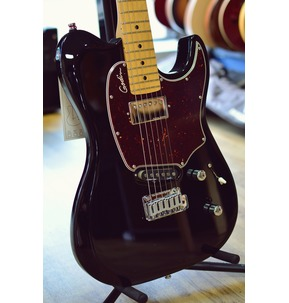 Godin Session Custom '59 - Black HG Maple Neck Electric Guitar & Case