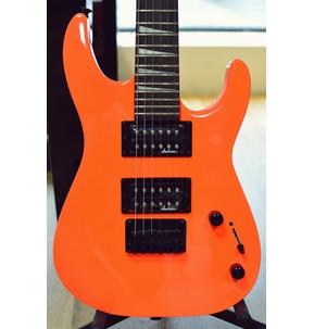 Jackson JS Series Dinky Minion JS1X, Neon Orange, Amaranth