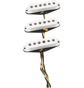 Fender Custom Shop Fat '60s Stratocaster Pickups, Set Of 3