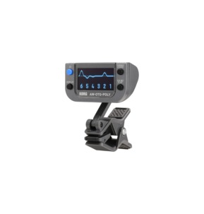 Korg AW-OTG-POLY Polyphonic Clip-On Guitar Tuner