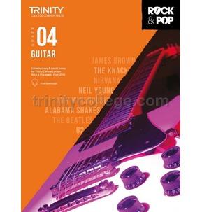 Trinity Rock & Pop 2018 Guitar Grade 4