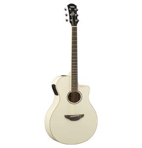 Yamaha APX600 Electro Acoustic Guitar, Vintage White