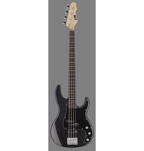 ESP LTD AP-204 CHM Charcoal Metallic Bass Guitar