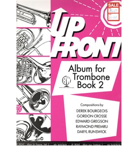 Up Front for Trombone - Book 2 - SALE