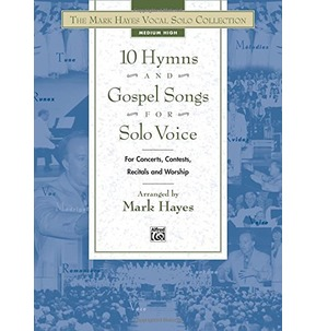 10 Hymns and Gospel Songs - Solo Voice Medium High - SALE