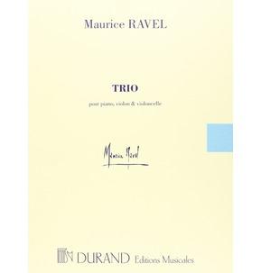 Ravel Trio -Partition+Parties Separees