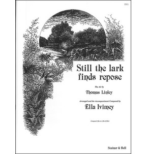 Thomas Linley Still the Lark Finds Repose