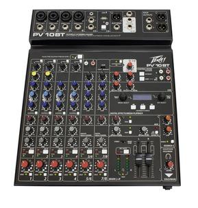 Peavey PV 10BT - 10 Input Bluetooth Stereo Mixer