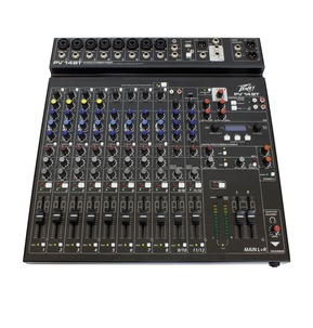 Peavey PV 14BT - 14 Input Bluetooth Stereo Mixer