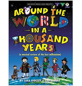 Around the World in 1000 Years (with 2 free Audio CD's)