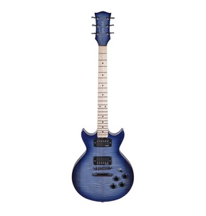 Gordon Smith GS2 Deluxe Heritage Blue Burst Electric Guitar & Hard Case