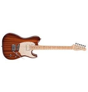 Godin Passion Custom - Whiskey Burst HG Maple Neck Electric Guitar & Case