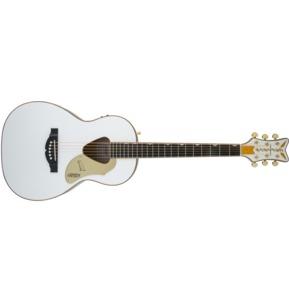 Gretsch G5021WPE Rancher Penguin Parlour, White Electro Acoustic Guitar