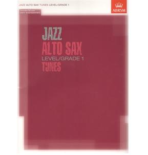 ABRSM Jazz Alto Sax Level/Grade 1 Tunes/Part & Score & CD