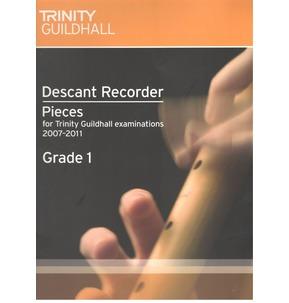 Trinity Descant Recorder Exam Pieces 2007-2011 Grade 1 - SALE