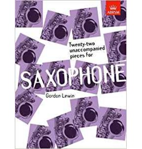 22 Unaccompanied Pieces for Saxophone