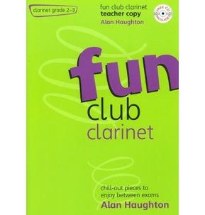 Fun Club Clarinet - Grade 2-3 (Teachers Copy) with CD